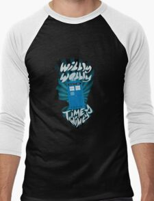 wibbly wobbly timey wimey Men's Baseball ¾ T-Shirt