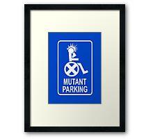 Mutant Parking Framed Print