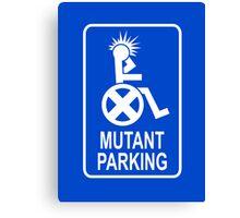 Mutant Parking Canvas Print