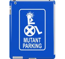 Mutant Parking iPad Case/Skin
