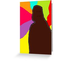 Boxed In Greeting Card