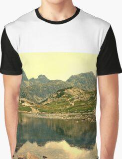 Mountain lake Graphic T-Shirt