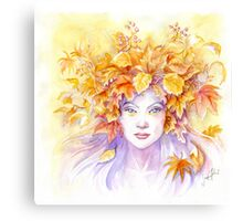 Crown of Autumn Canvas Print