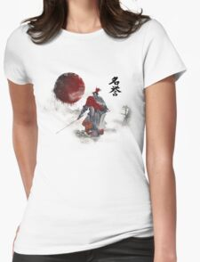Way of the Samurai (3) Womens Fitted T-Shirt