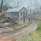 Historic Cohutta Springs Mill by Deborah Pritchett