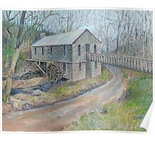 Historic Cohutta Springs Mill Poster