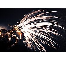The Exploding Growler Photographic Print