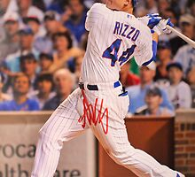 Anthony Rizzo signed photo by michaelroman