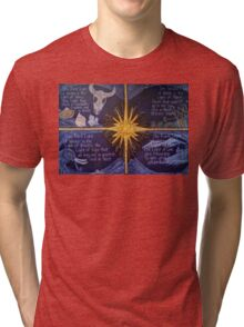 The Four Lights of Winter Tri-blend T-Shirt
