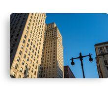 Philadelphia Urban Landscape - 0948 Canvas Print