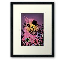 Silhouette Aurora Framed Print