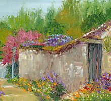 Springtime in France - Montreuil-Bellay Village by Dai Wynn