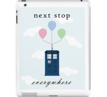 Doctor Who Minimalist Poster iPad Case/Skin