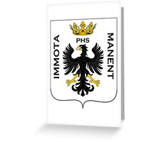 Coat of Arms of L'Aquila, Italy Greeting Card