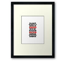 The Art of Being a Mom (version 2) Framed Print