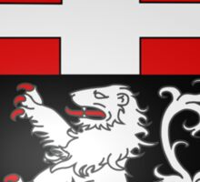 Coat of Arms of City of Aosta Sticker