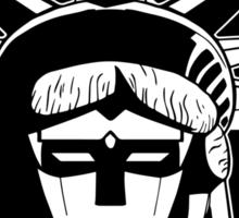 Voltron Liberty (b/w) Sticker