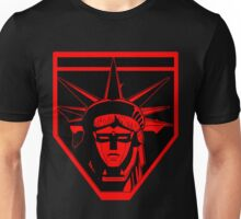 Voltron Liberty (red) Unisex T-Shirt