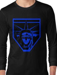 Voltron Liberty (blue) Long Sleeve T-Shirt