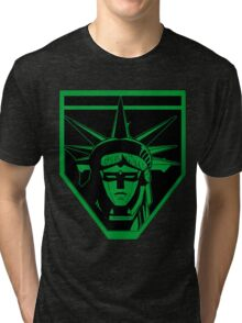 Voltron Liberty (green) Tri-blend T-Shirt