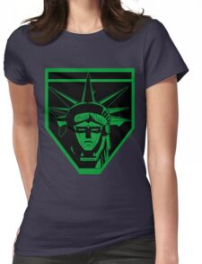 Voltron Liberty (green) Womens Fitted T-Shirt