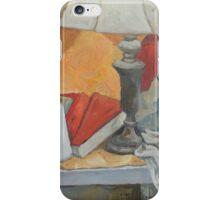 Golden Lamp II (Still Life) iPhone Case/Skin