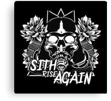 Sith Rise Again Canvas Print