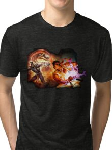 Fighting Games Collide Tri-blend T-Shirt