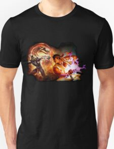 Fighting Games Collide Unisex T-Shirt