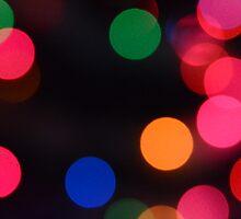 Blurry Lights by Gerbiil