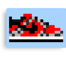 8-bit Kicks (Supreme) Canvas Print