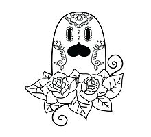 Diglett de los Muertos | Pokemon & Day of The Dead Mashup by abowersock