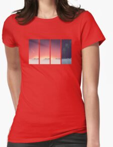 SUNRISE - Winter Sun Womens Fitted T-Shirt