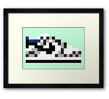 8-bit Kicks (Supreme) Framed Print
