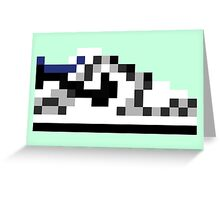 8-bit Kicks (Supreme) Greeting Card