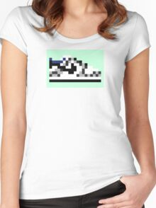 8-bit Kicks (Supreme) Women's Fitted Scoop T-Shirt