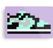 8-bit Kicks (Tiffany) Metal Print
