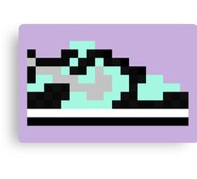 8-bit Kicks (Tiffany) Canvas Print