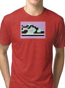 8-bit Kicks (Tiffany) Tri-blend T-Shirt