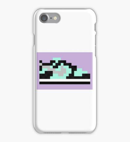 8-bit Kicks (Tiffany) iPhone Case/Skin