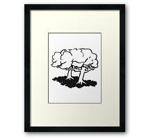 gnarled tree group Framed Print