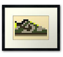 8-bit Kicks (Jedi) Framed Print