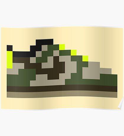 8-bit Kicks (Jedi) Poster