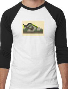 8-bit Kicks (Jedi) Men's Baseball ¾ T-Shirt