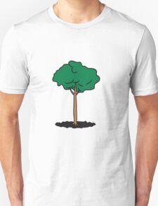 tall slim tree Unisex T-Shirt