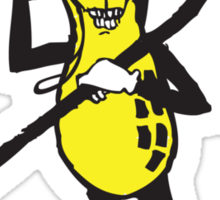 DeathNut! Sticker
