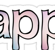 Kappa Fade Sticker
