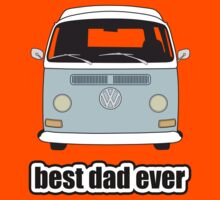 Best Dad Ever Pale Blue Early Bay Kids Clothes