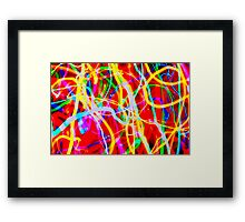 you want some more? Framed Print