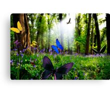 paradise in nature Canvas Print